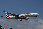 A6-EGK Boeing B777-31HER B77W - UAE (18698963385).jpg