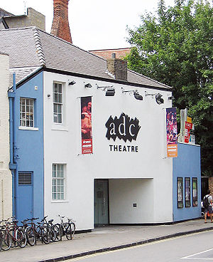 Emma Thompson - ADC Theatre, University of Cambridge, where Thompson began performing with Footlights