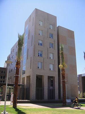 Barrett, The Honors College - Image: ASU Main Barrett 01 2009 08 28