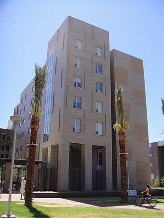 Arizona State University Tempe campus - Image: ASU Main Barrett 01 2009 08 28