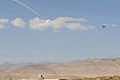 A U.S. Air Force F-15E Strike Eagle delivers a show of force on day three of Operation Shamshir, in Logar province, Afghanistan, Oct. 20, 2011 111020-A-HQ885-076.jpg