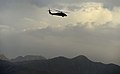 A U.S. Army UH-60 Black Hawk helicopter carrying U.S. Deputy Secretary of Defense Ash B. Carter flies over a mountain range in Afghanistan May 13, 2013 130513-D-NI589-1770.jpg