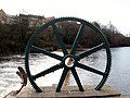 A Waterwheel adjacent to Wetherby Weir - geograph.org.uk - 1773362.jpg