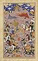 A battle between the army of Shah Ismail and the Aq Qoyunlu, Safavid Qazvin or Isfahan, cica 1590-1600.jpg