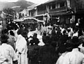 A crowd of people on a national holiday around 1910s, Photo-No.5135.jpg