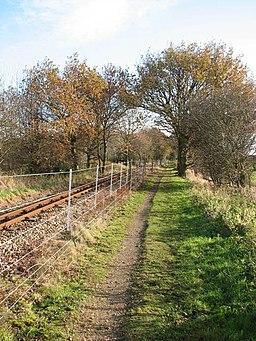 A pleasant walk in late November sunshine - geograph.org.uk - 1059273