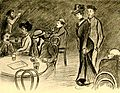 A yong man and a young women just entered the café. The spirit of the Ghetto.1902.jpg