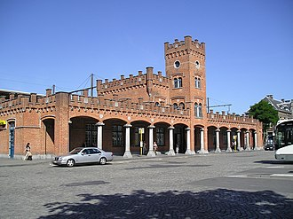 Jean-Pierre Cluysenaar - Railway station of Aalst