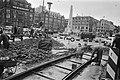 Aanleg tramrails op de Dam, Bestanddeelnr 928-9759.jpg