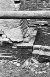 aanzet zuid-oost hoeklesene schip - hoogkerk - 20115184 - rce