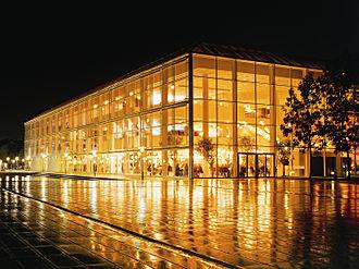 Musikhuset Aarhus - Musikhuset Aarhus by night