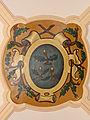 Abbaye Saint-Martin-des-Glandières, clé de voûte avec blason abbatial..jpg
