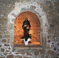 Abbazia Santa Maria in Montesanto - Statua di san Giovanni Gualberto.jpg