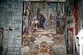 Abbazia di San Salvatore (Abbadia San Salvatore), Cappella della Madonna della Pieve, affreschi di Francesco Nasini e Antonio Annibale Nasini 03.jpg