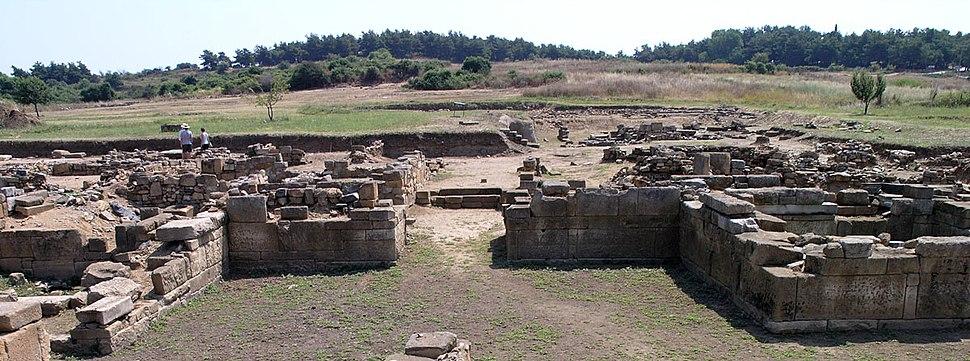 Abdera West gate