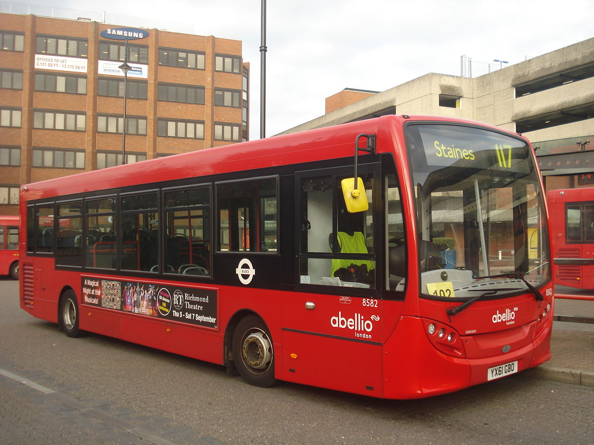 london buses route 117 - wikipedia