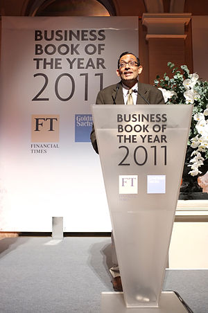 Abhijit Banerjee - Banerjee at the 2011 FT Goldman Sachs Business Book of the Year Award