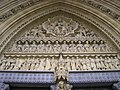 Above the western door, Westminster Abbey, Broad Sanctuary SW1 - geograph.org.uk - 1279493.jpg