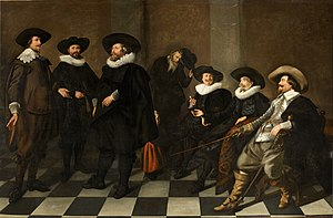 Regents group portrait - Image: Abraham de Vries regents of the city orphanage in Amsterdam