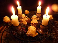 category advent candles wikimedia commons