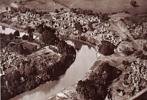 Genale - The Shebelle river some km before Genale in the 1930s