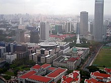 Aerial view of the Downtown Core, Singapore - 20050326-01.jpg