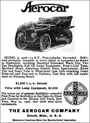 Aerocar (1905 automobile) - The Aerocar Company - Detroit, Michigan - 1906