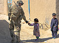Afghan National Army and paratroopers patrol Jana Kheyl, detain four suspected insurgents 120613-A-FH435-008.jpg