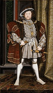 Henry VIII of England 16th-century King of England