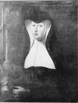 Eibingen Abbey - Philippine zu Guttenberg, last abbess of the convent prior to the German mediatization