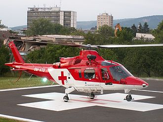 Air – Transport Europe - Agusta A109K2 of ATE Slovakia