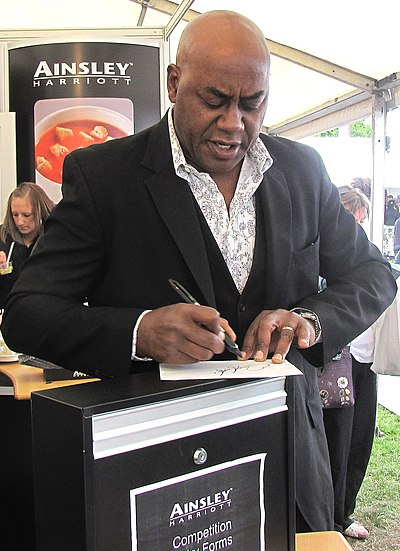 Harriott at the Taste of London, June 2010