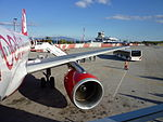 Air Berlin am Mitilini-Airport.JPG