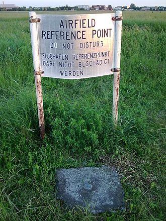 Airport reference point - Airport reference point of the defunct Berlin Tempelhof Airport