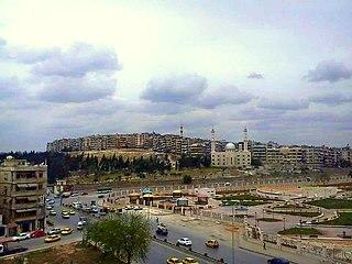 Neighborhood in Democratic Federation of Northern Syria, Aleppo, Syria