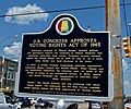 Alabama Historic Highway marker, Edmund Pettus Bridge 02.jpg