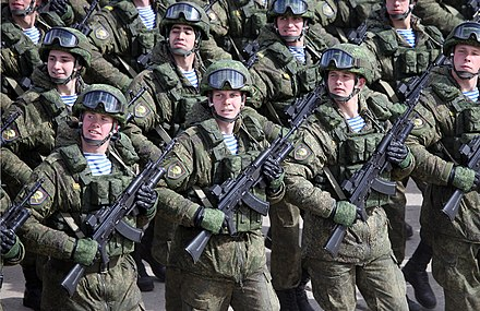 Russian troops marching in the 2015 Moscow Victory Day Parade Alabino220415part1-06.jpg