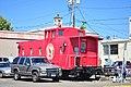Albany, Oregon - Tripp & Tripp caboose 01.jpg