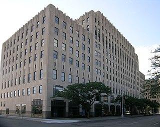 office building in Detroit, Michigan