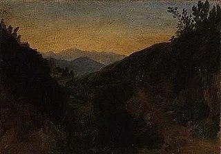 Morning among the Mountains: La Cava - Naples