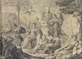 Alegoria a Sebastião José de Carvalho e Melo (Anton. Frz Roiz Brasil. Lusit. inv. et del. Lisb. Steph. Fessard sculp. parisi).png