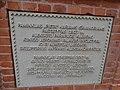 Aleksoto kapinės, Savanorių paminklas. Lenta 3.JPG