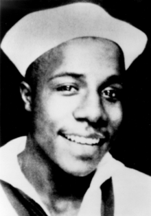 Description de l'image Alex haley US coast guard.png.