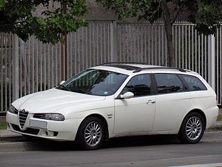 Alfa Romeo 156 Compact executive car
