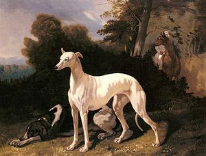 Alfred de Dreux - Image: Alfred Dedreux A Greyhound In An Extensive Landscape