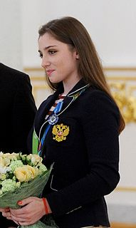 Aliya Mustafina Former Russian artistic gymnast