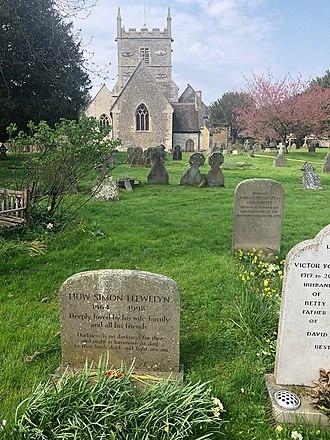 Church of All Hallows, South Cerney - The church from the churchyard