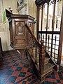 All Saints Church, Middle Claydon, Bucks, England - pulpit.jpg