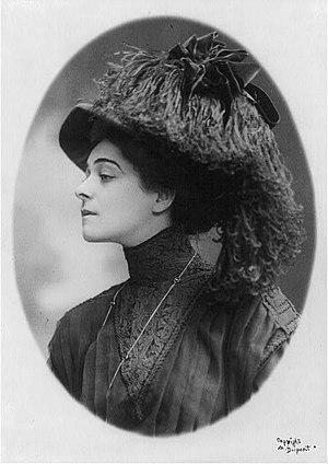 Aimé Dupont - Image: Alla Nazimova, ca. 1908 (2)