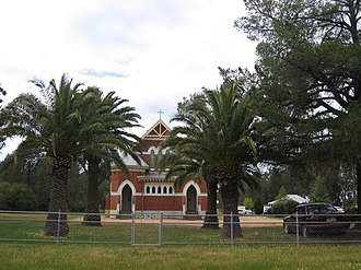 Alma Park, New South Wales - Lutheran Church at Alma Park